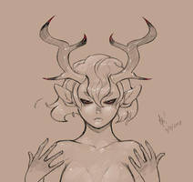 Faun - WIP by Clockwork7