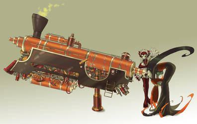 Steam-Powered Locoscope by Clockwork7