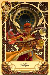 Arcana - The Navigator by Clockwork7