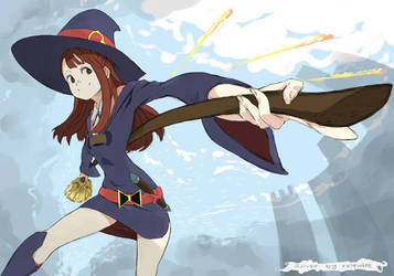 Little Witch Academia: Akko by reiquant