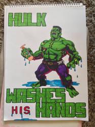 Hulk by Mamakazza