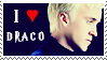 I Heart Draco Stamp by misticrain93