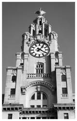 Liver Building Clock by AndrewNickson