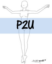P2U base - dancer05 by angela-sparkle