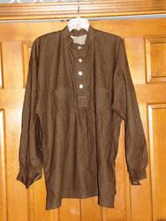 Brown Civil War Shirt by Erevanur