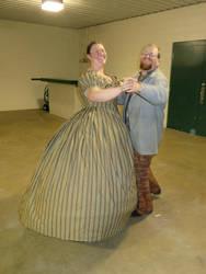 Civil War Ballgown 2 by Erevanur