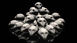 Skull Pile by ManyardButler