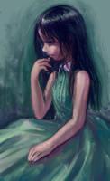 flowery green rust by DensenManiya