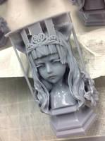 NekoQeen 3D Printing 03 by DensenManiya