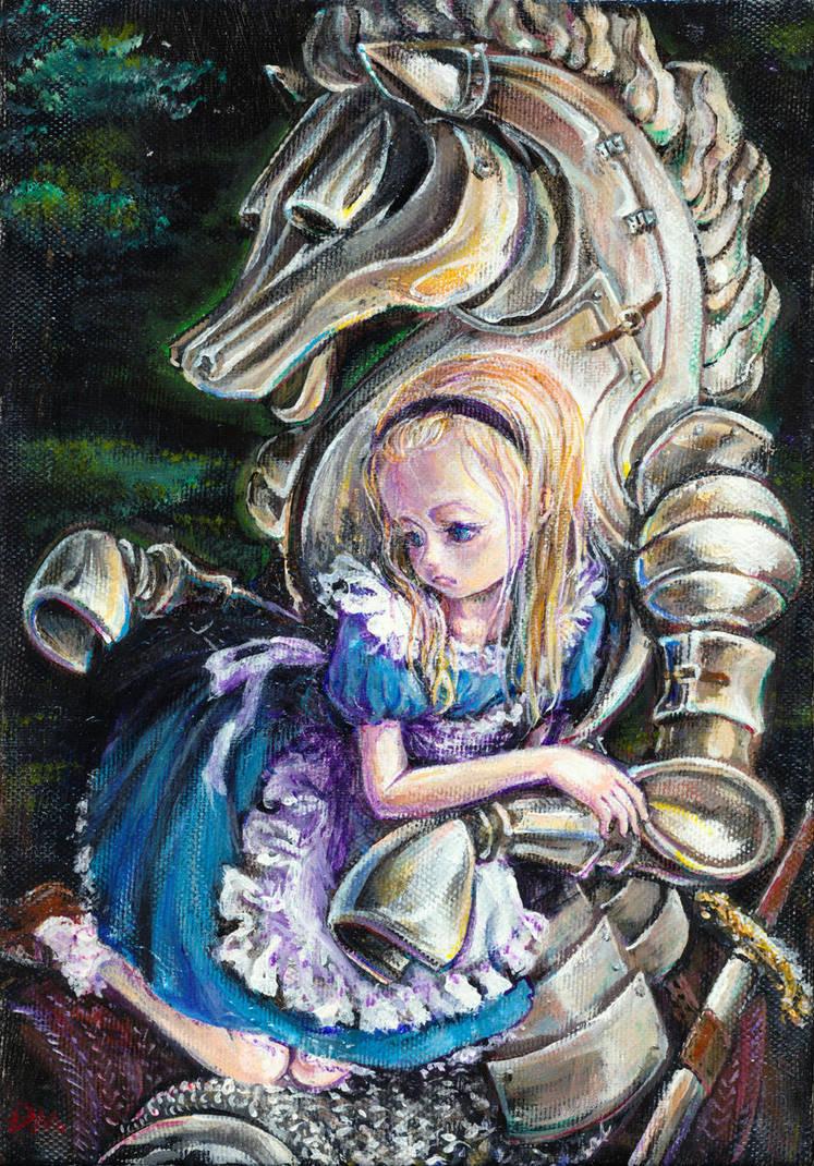 White knight by DensenManiya