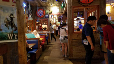 Bubba Gump Shrimp Dining room by Marco-the-Scorpion