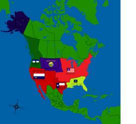 Alternate Usa Map By Gamekiller12 On Deviantart