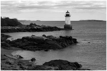Salem Lighthouse by Delacorr