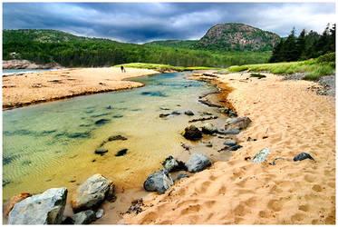 Sand Beach by Delacorr