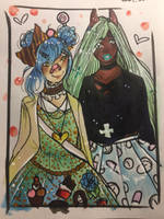 Aceo couple by JasminTheSinnerx3