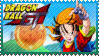 Dragon Ball GT Pan Stamp by Knightmare-Moon