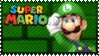 Mario Stamp - Luigi by Knightmare-Moon