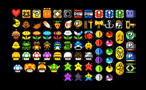 Mario Bros. Item Sheet by ninboy01