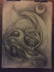 New larger scale WIP by deadanna