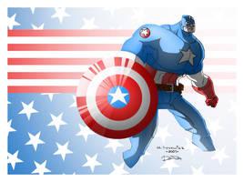cap. America by ferwar