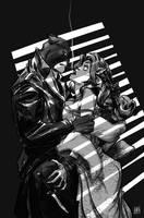 Blacksad by Fox by AshcanAllstars