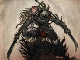 Predator by Moritat by AshcanAllstars