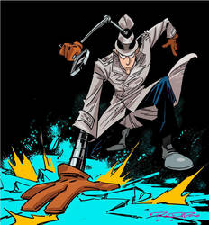Inspector Gadget by Khary Randolph by AshcanAllstars