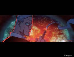 Illusive Man from Mass Effect by Khary Randolph by AshcanAllstars