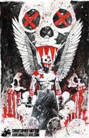 Madder Red of Bedlam by Christopher Mitten by AshcanAllstars