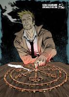 John Constantine by Elena Casagrande by AshcanAllstars