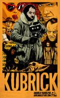 Stanley Kubrick by Amancay Nahuelpan by AshcanAllstars