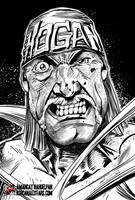 Hulk Hogan by Amancay Nahuelpan by AshcanAllstars