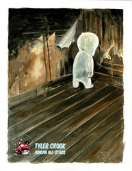 Casper the Friendly Ghost by Tyler Crook by AshcanAllstars