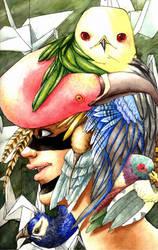 Hat birds by piratepseudoferret