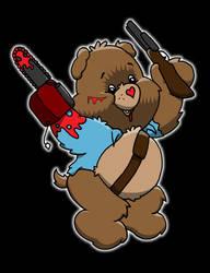 Evil Dead Ash care bear by yayzus