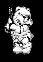 stormtrooper care bear by yayzus