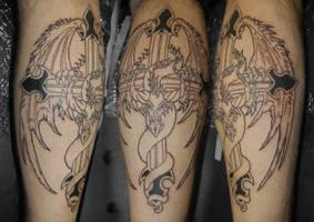 dragon stage 1 tattoo by yayzus