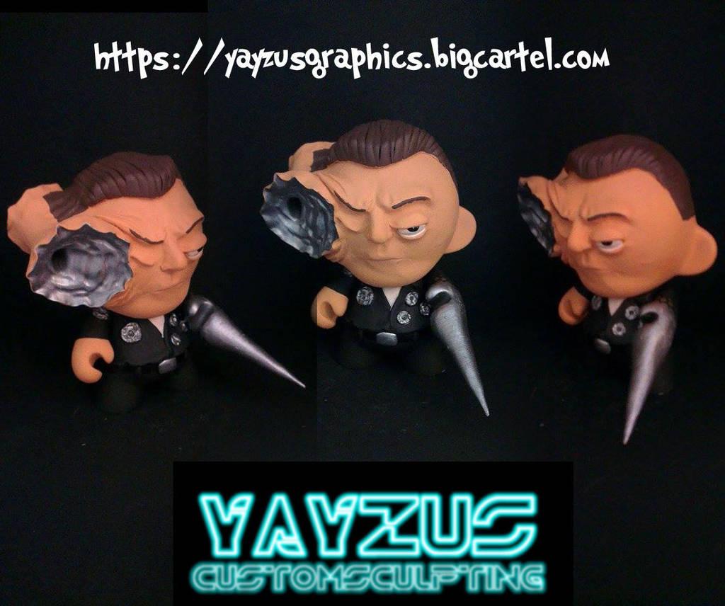 Terminator munny by yayzus