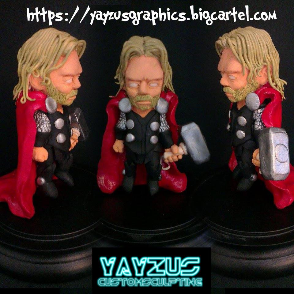 thor sculpt by yayzus