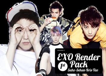 EXO Render/PNG pack by seaweed96