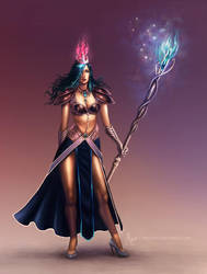 mage concept by malisaa