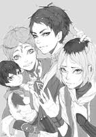 Pretty Setter Squad by xiao-speck