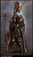 Total War Warhammer - Karl Franz Concept by rineart