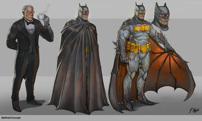 Batfred by rineart
