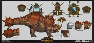 Bastiladon Concept by rineart