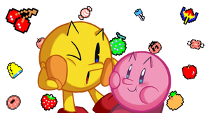 The Pac and the Pac-Kirby by itsscarfy
