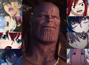 Thanos's Victory by artdog22