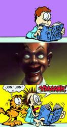 John Reads Scary Story: Slappy the Dummy by artdog22