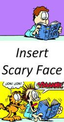 John Reads Scary Story (Blank) by artdog22