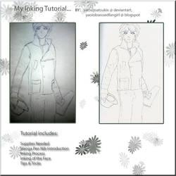 Inking Tutorial Title Page by yatoujisatsukix